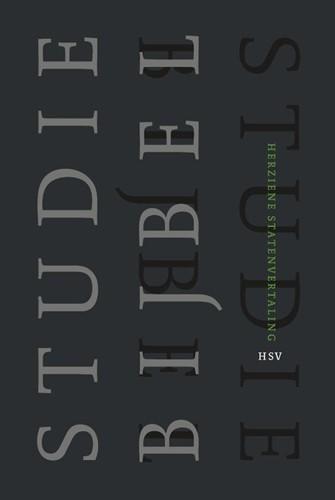 Studiebijbel (HSV) - luxe editie (Hardcover)