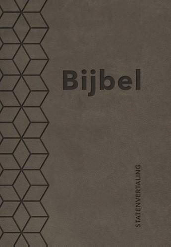 Bijbel (SV) met psalmen (ritmisch) - taupe (Kunstleer)
