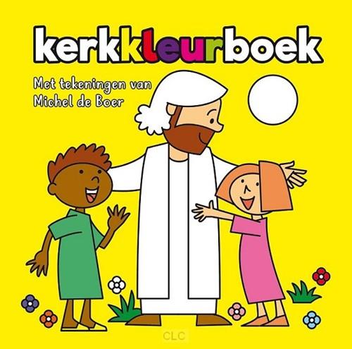 Kerkkleurboek 2 (geel) (Paperback)