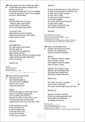 Opwekking Grootletter tekstaanvulling 44 (Losbladig/Geniet)
