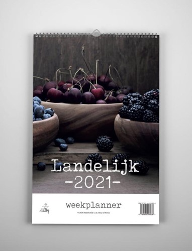 Landelijk weekplanner 2021