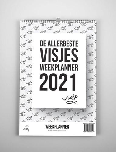 De allerbeste Visjes weekplanner 2021 (Kalender)