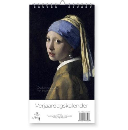 Verjaardagskalender Oude meesters (Kalender)