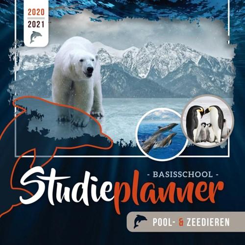 Basisschool studieplanner Pool- en Zeedieren 2020-2021 (Ringband)