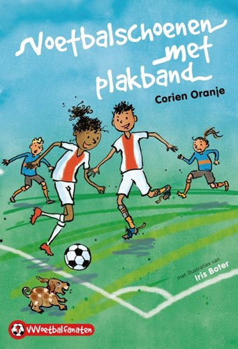 Voetbalschoenen met plakband (Hardcover)