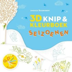 3D Knip- en kleurboek (Paperback)