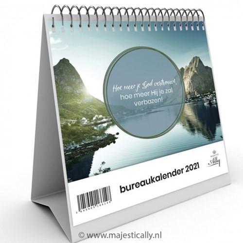 Burokalender 2021 Je bent geliefd (Kalender)