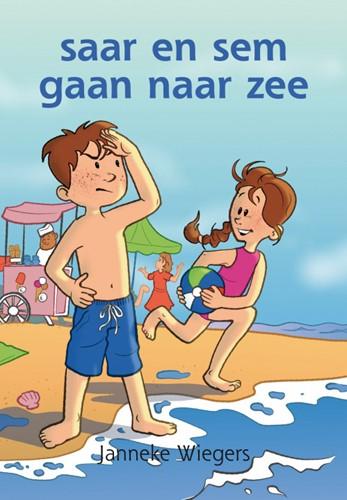 Saar en sem gaan naar zee (Hardcover)