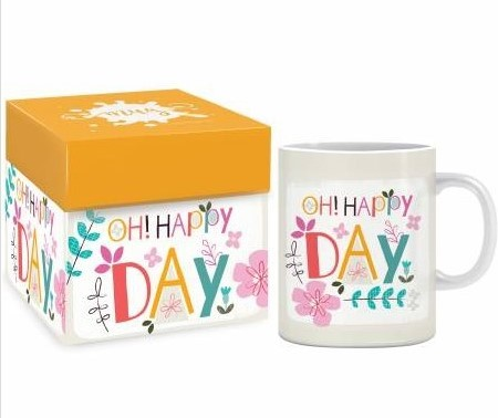 Mok Oh Happy Day (Cadeauproducten)
