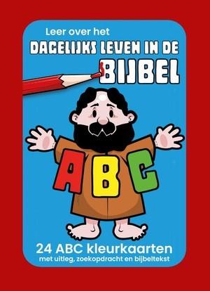 Dagelijks leven ABC kleurkaarten (Spel)
