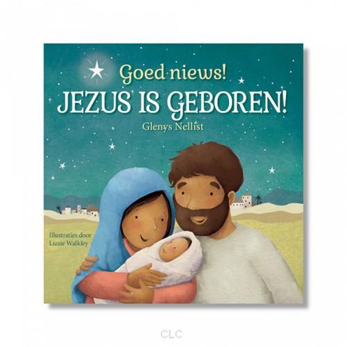 Goed nieuws! Jezus is geboren! (Kartonboek)