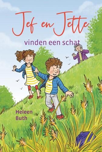 Jef en Jette vinden een schat (Hardcover)