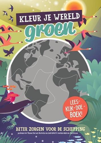 Kleur je wereld groen (Paperback)