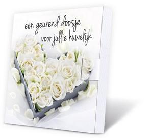 Geurdoosje: Een geurend doosje voor jullie huwelijk (Cadeauproducten)
