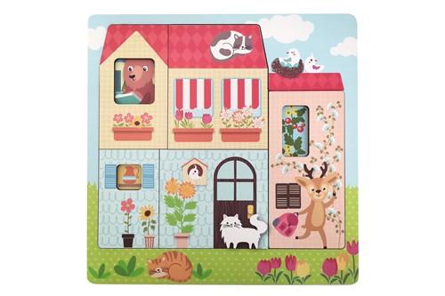 Puzzel Huis 3 laags (Cadeauproducten)