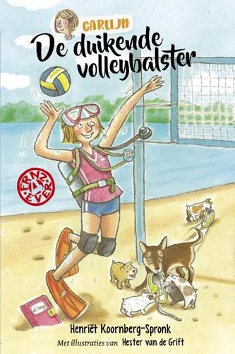 De duikende volleybalster (Hardcover)