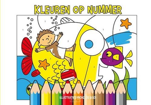 Kleuren op nummers (Paperback)