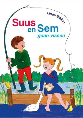 Suus en Sem gaan vissen (Hardcover)