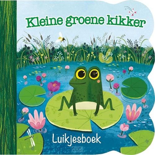 Kleine groene kikker (Kartonboek)