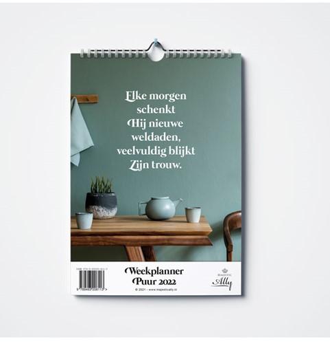 Weekplanner 2022 Puur (Kalender)