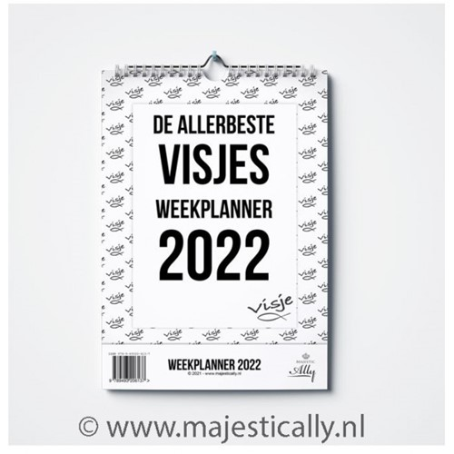 De allerbeste Visjes weekplanner 2022 (Kalender)