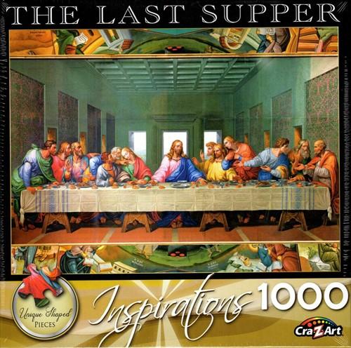 Puzzel The Last Supper (1000 stukjes) (Puzzel)