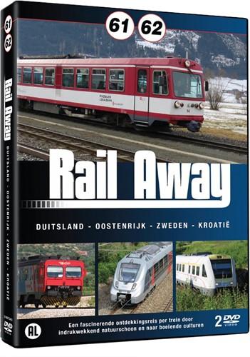 Rail Away 61/62 (Duitsland/Oostenrijk/Zw (DVD-rom)