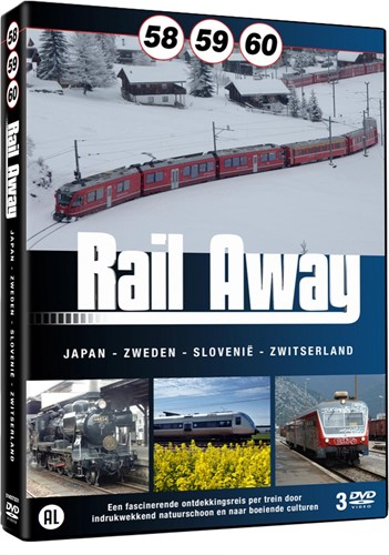 Rail Away 58 / 59 / 60 (DVD-rom)