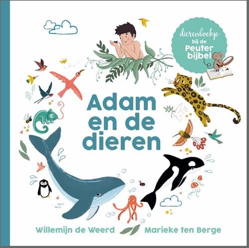 Adam en de dieren (Kartonboek)