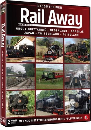 Rail Away - Stoomtreinen (2DVD-box) (DVD-rom)