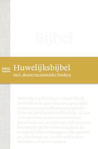 NBV21 Huwelijksbijbel incl. deuterocanonieke boeken (Hardcover)