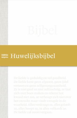NBV21 Huwelijksbijbel (Hardcover)