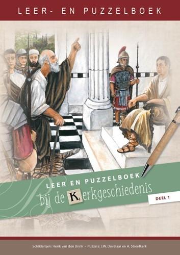 Leer- en puzzelboek bij de kerkgeschiedenis, deel 1 (Paperback)