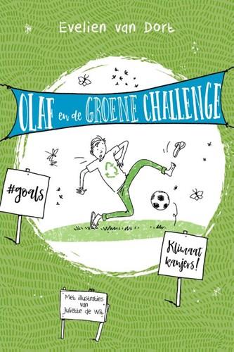 Olaf en de groene challenge (Paperback)