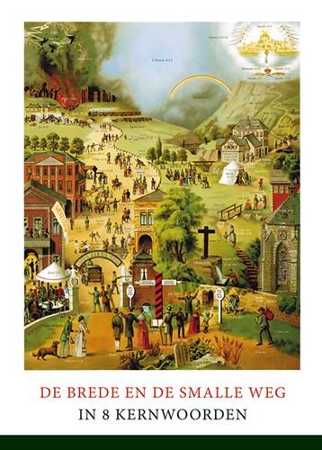 Poster A4 'De brede en de smalle weg' (Poster)