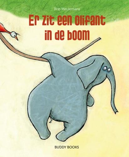 Er zit een olifant in de boom (Hardcover)