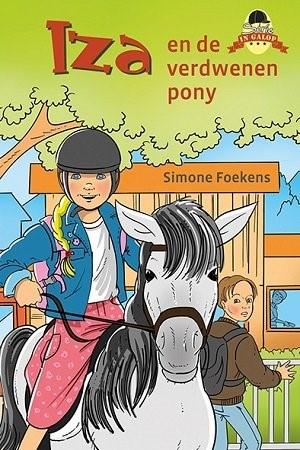 Iza en de verdwenen pony (Hardcover)