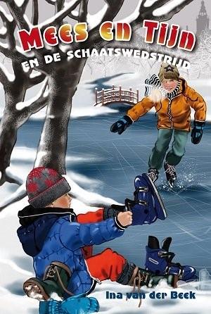 Mees en tijn en de schaatswedstrijd (Hardcover)