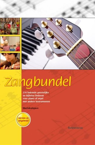 Zangbundel, muziekuitgave (Boek)