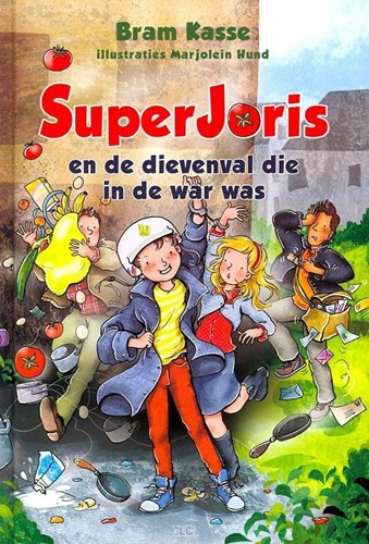 SuperJoris en de dievenval die in de war was (Hardcover)