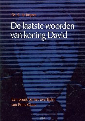 De laatste woorden van koning David (Paperback)