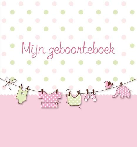 Mijn geboorteboek (Roze) (Hardcover)