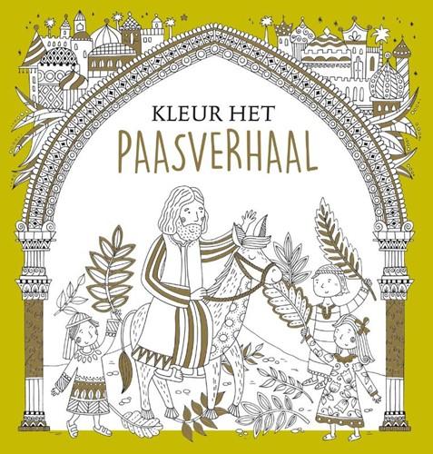 Kleur het paasverhaal (Paperback)