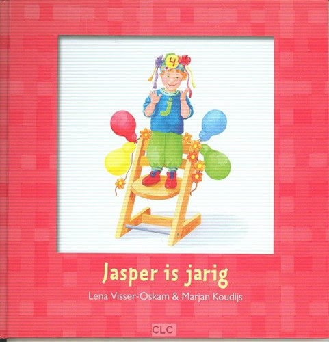 Jasper is jarig (Hardcover)