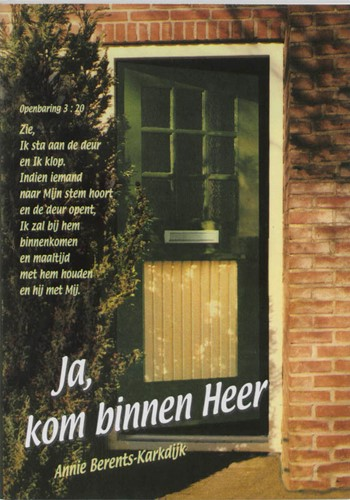 Ja kom binnen Heer (Paperback)