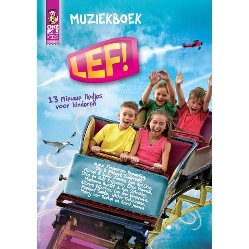 Lef! - Muziekboek (CD)