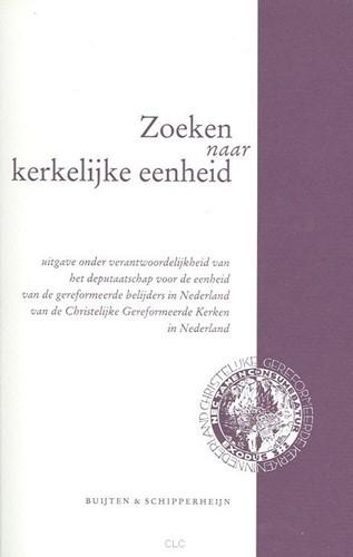 Zoeken naar kerkelijke eenheid (Boek)