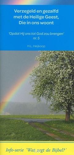 Verzegeld en gezalfd met de Heilige Geest, Die in ons woont (Boek)