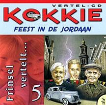 Kokkie 5 feest in de jordaan luisterboek (CD)