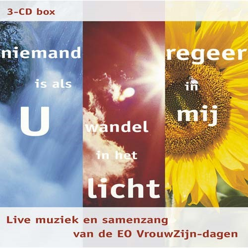 3-CD Box Niemand is als U | Wandel in het licht | Regeer in mij (DVD)